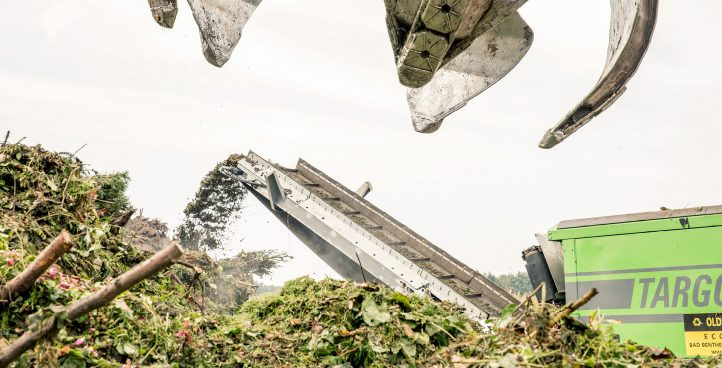 Annahme und Verwertung von Grünabfällen